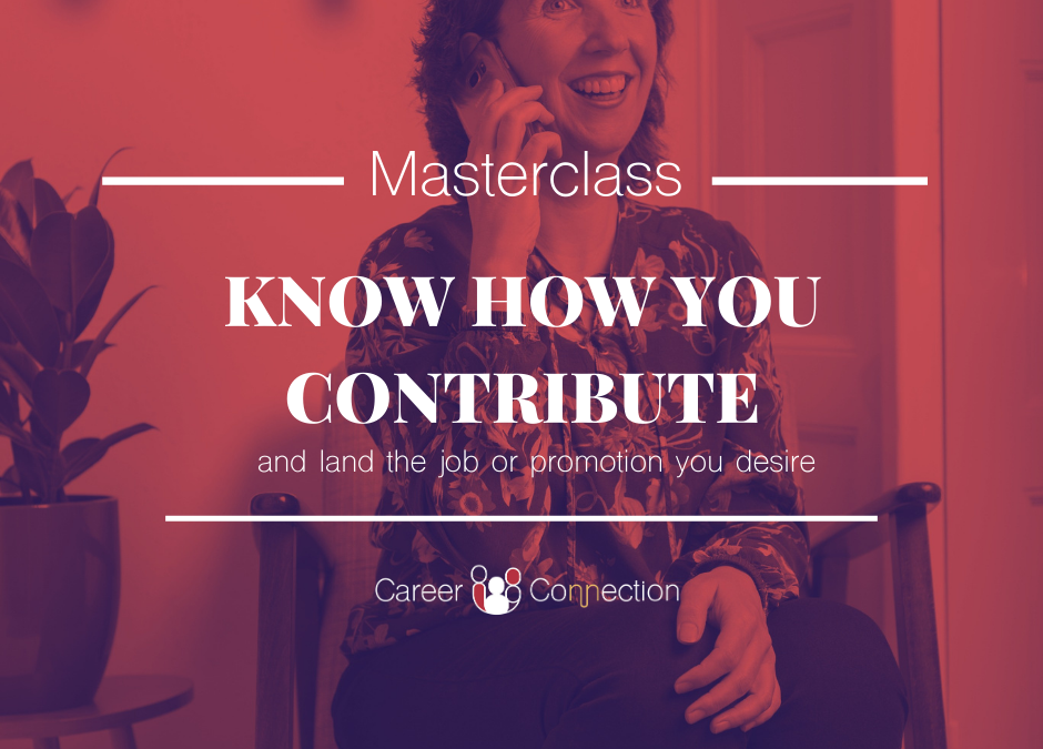 Know how you Contribute