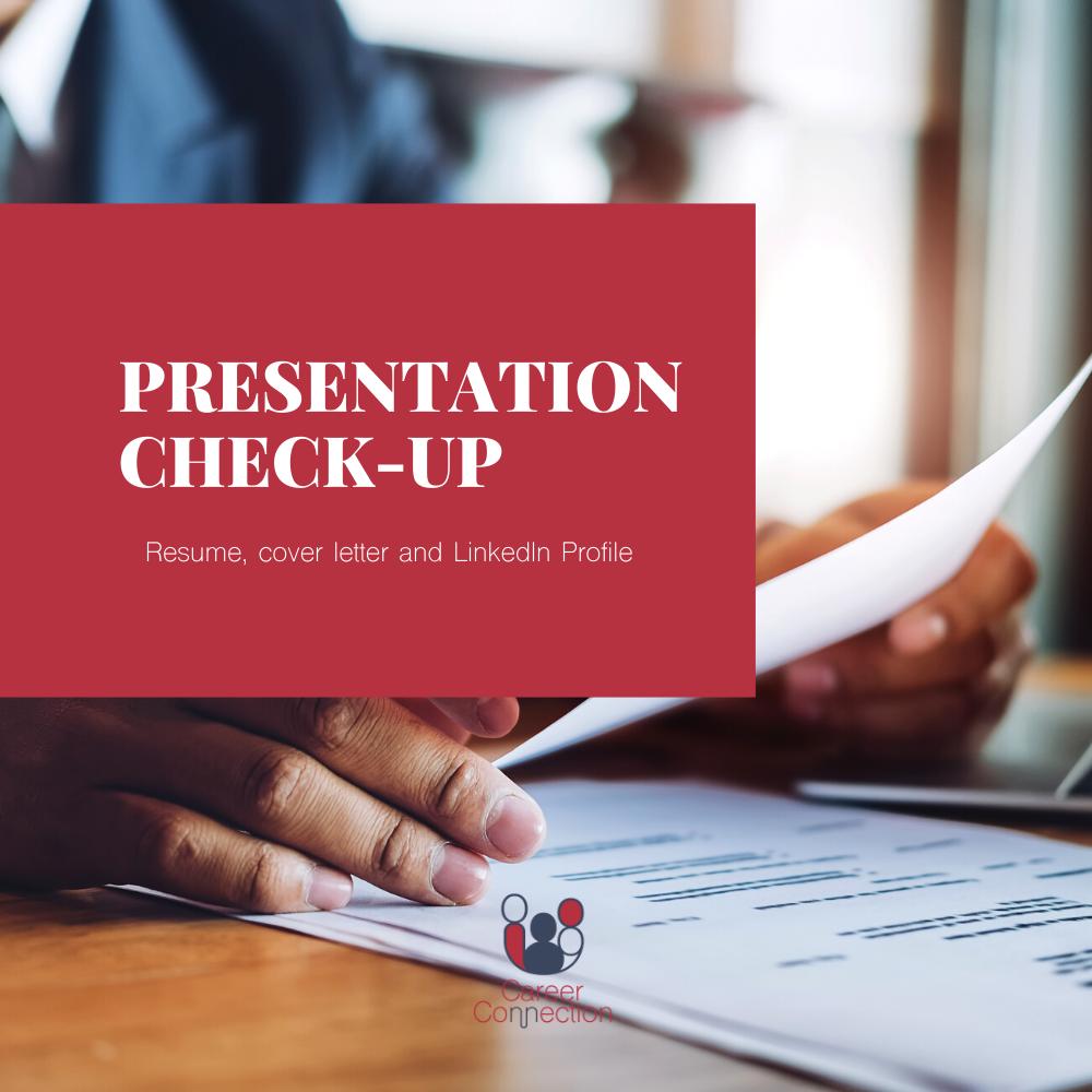 Presentation Check-Up