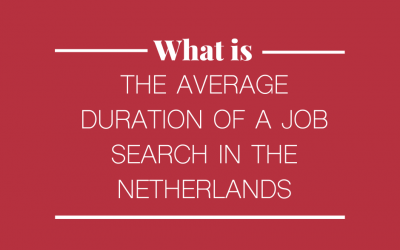 What is the average duration of a Job Search in the Netherlands?